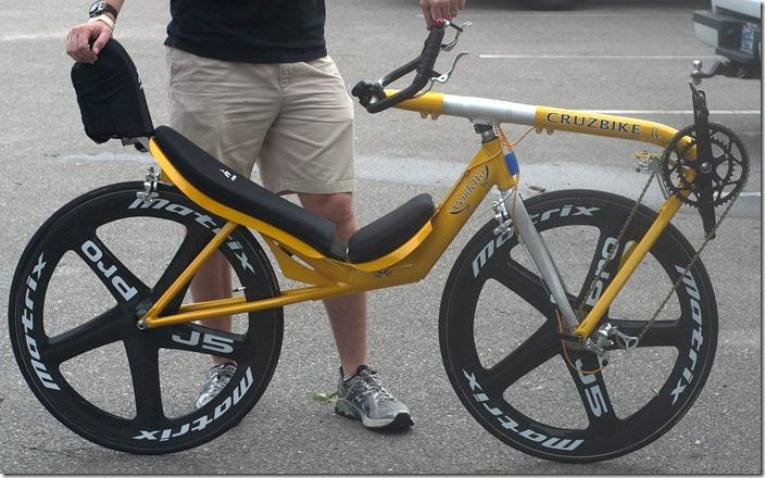 Bicicletta Reclinata