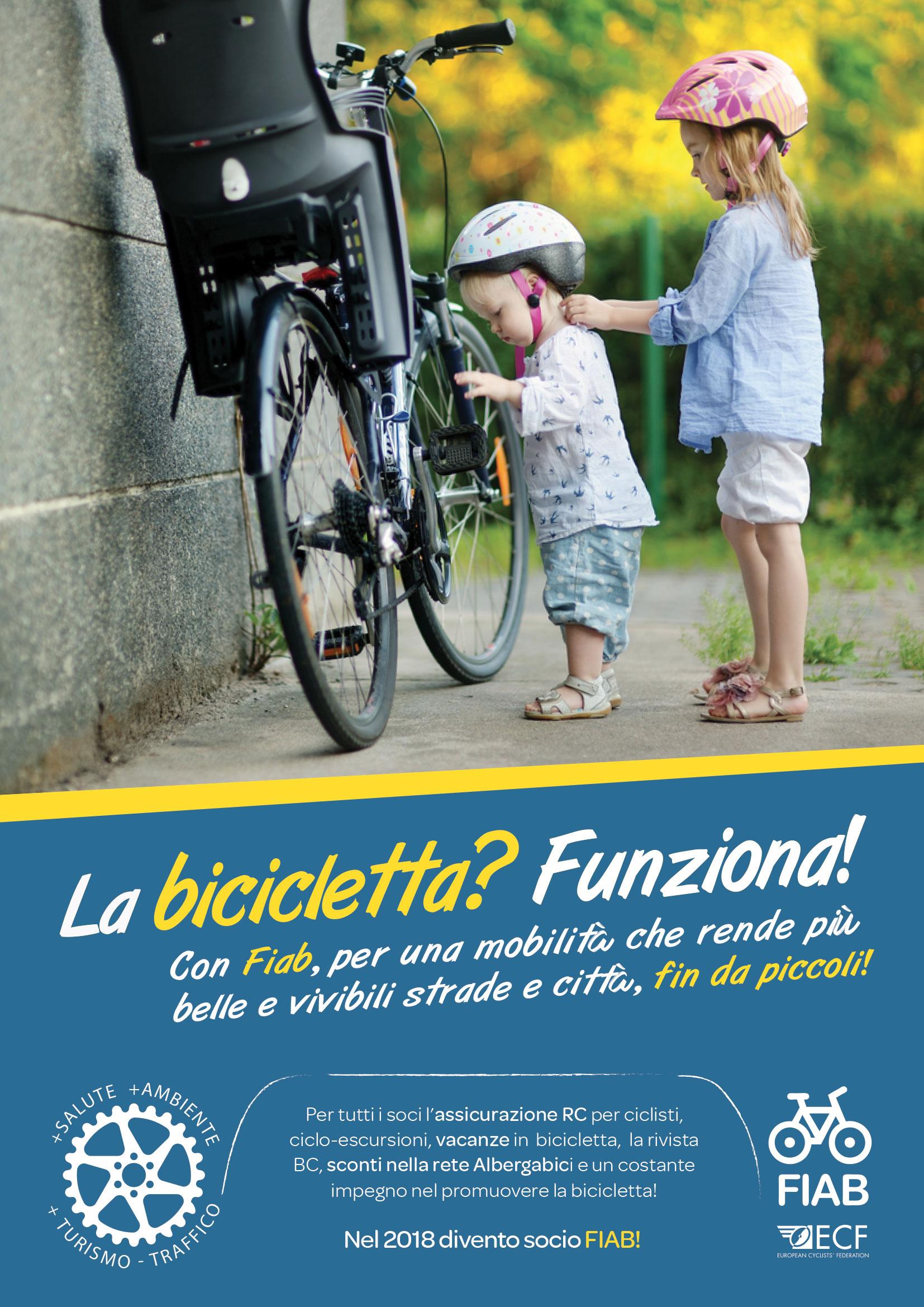 La bicicletta? Funziona!