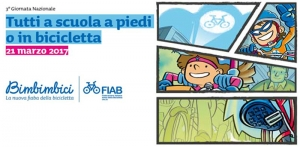 21 marzo: Tutti a scuola a piedi o in bicicletta