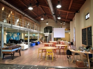 L'Impact Hub di Firenze, sede del workshop