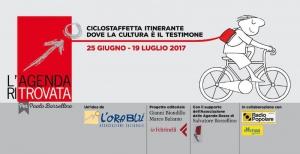 L'agenda ritrovata: la prima ciclostaffetta in memoria di Paolo Borsellino