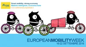 """16 - 22 settembre 2016: riparte la """"settimana europea della mobilità sostenibile... in bicicletta"""" targata Fiab"""