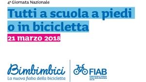 Tutti a scuola a piedi o in bicicletta: il 21 marzo sboccia la mobilità attiva