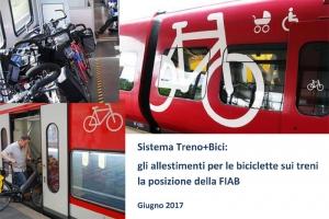 Allestimenti per le bici sui treni, la posizione FIAB
