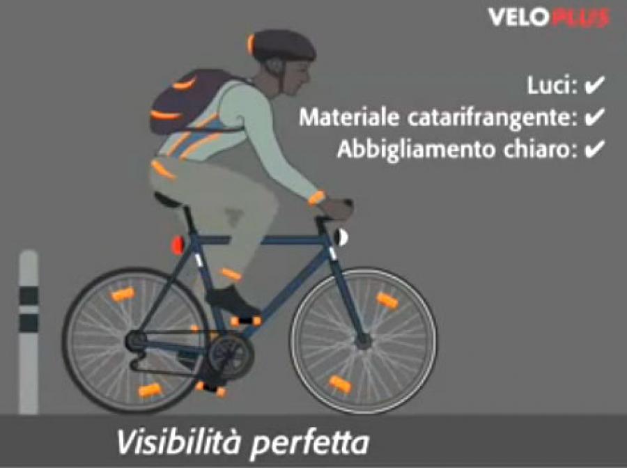 Giubbotto catarifrangente bici