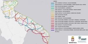 Puglia: adottata la proposta di Piano Regionale della Mobilità Ciclistica. 16 ciclovie individuate